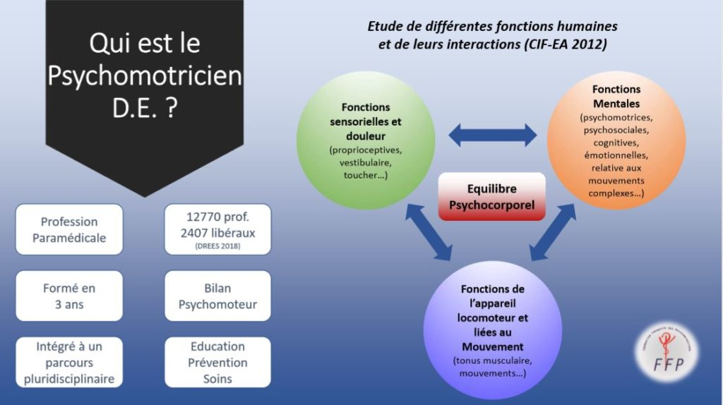 psychomotricien fonctions profession bilan