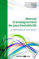 Manuel enseignement psychomotricité 2