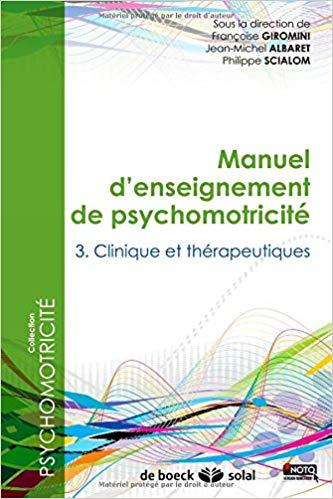 Manuel enseignement psychomotricité 3