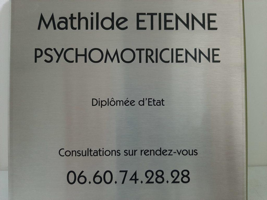 Mathilde Etienne Psychomotricienne Chatou