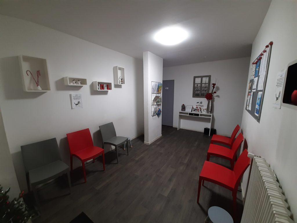 Salle attente psychomotricité renoir