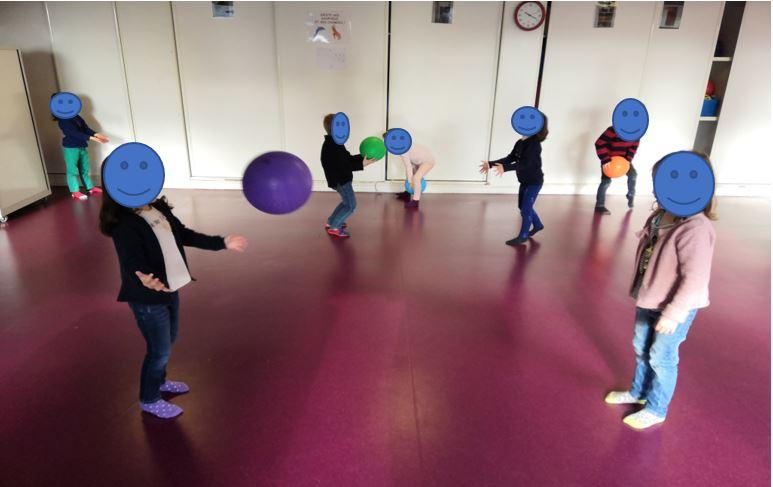 Coordination oculo-manuelle et jeux de ballons enfants 4 ans