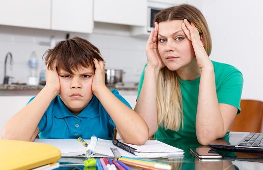 TDC dyspraxie devoir enfant